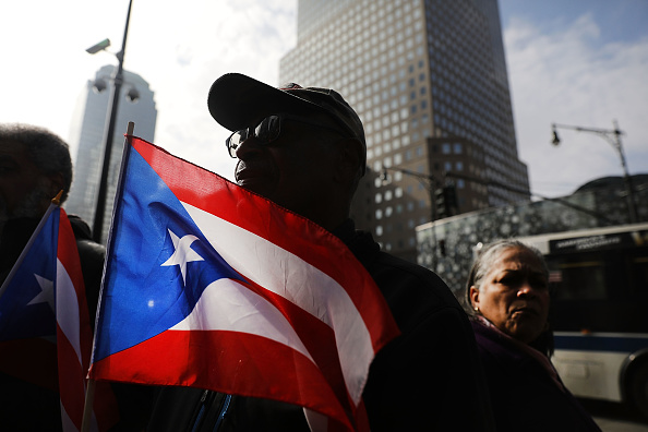 New York City「Activists Rally At FEMA Office In NYC For More Aid For Puerto Rico」:写真・画像(11)[壁紙.com]