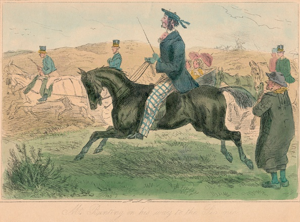 Etching「'Mr. Bunting On His Way To The Pic-Nic', 1860」:写真・画像(6)[壁紙.com]