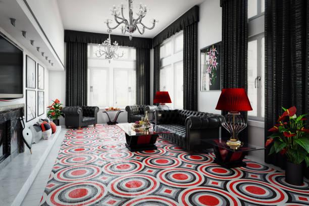UK Style Luxurious Home Interior:スマホ壁紙(壁紙.com)