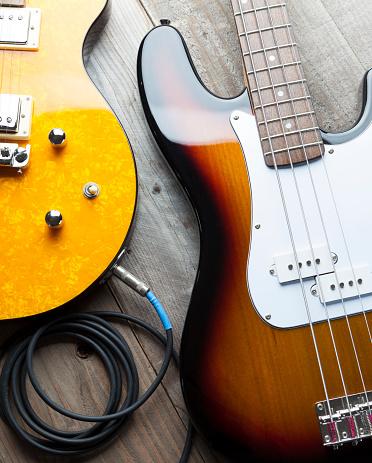 Rock Music「Two Guitars」:スマホ壁紙(9)