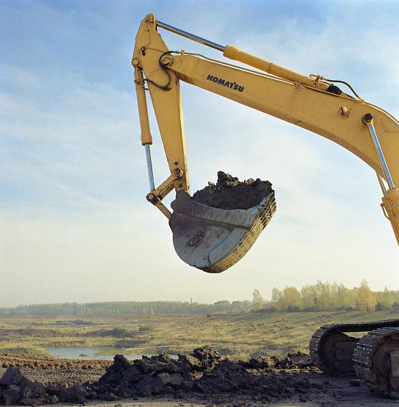 Construction Machinery「Bucket excavator」:写真・画像(14)[壁紙.com]