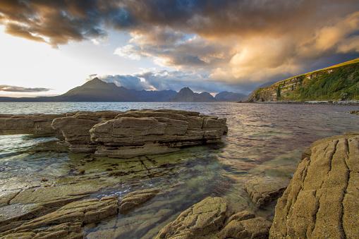 スコットランド文化「スコットランドの海岸線」:スマホ壁紙(18)