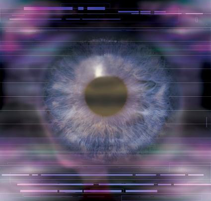 Iris - Eye「Close-up of eye」:スマホ壁紙(1)