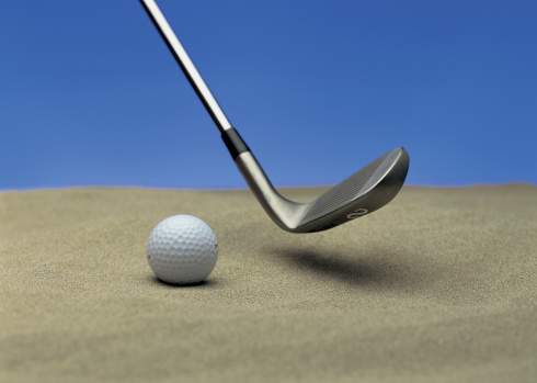 Putting - Golf「close-up of a golf ball and golf club」:スマホ壁紙(6)