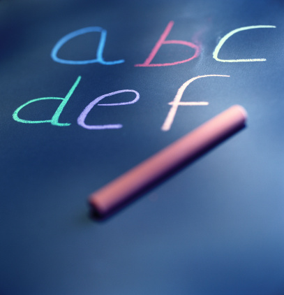 Chalk - Art Equipment「close-up of letters written on a chalkboard」:スマホ壁紙(9)