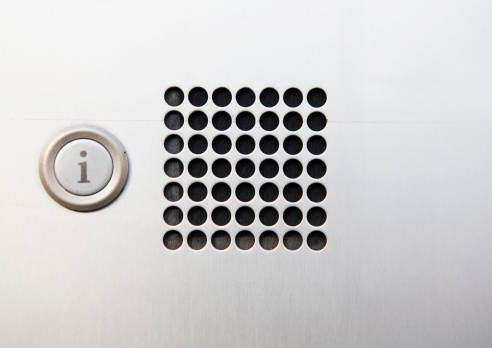 Intercom「close-up of intercom」:スマホ壁紙(12)