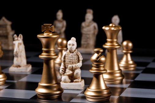 趣味・暮らし「Close-up of chess」:スマホ壁紙(4)
