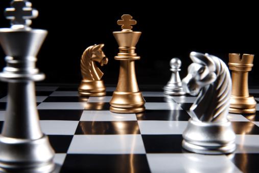 趣味・暮らし「Close-up of chess」:スマホ壁紙(2)