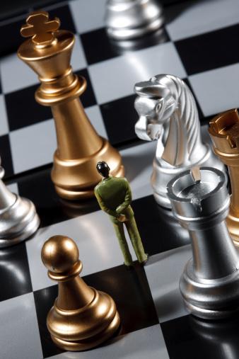 趣味・暮らし「Close-up of chess」:スマホ壁紙(15)