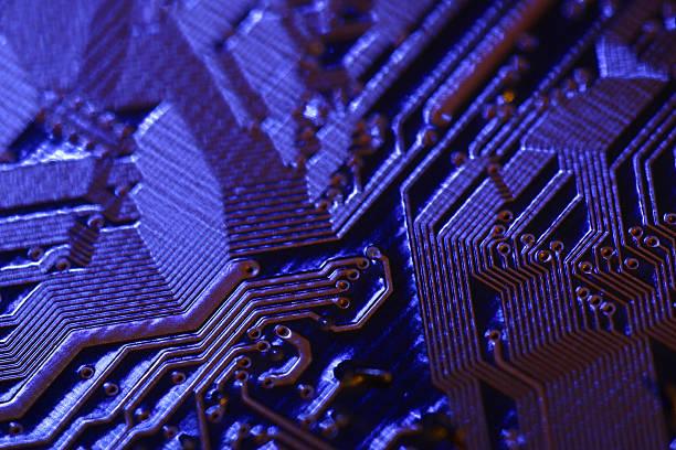 Close-up of circuitry:スマホ壁紙(壁紙.com)