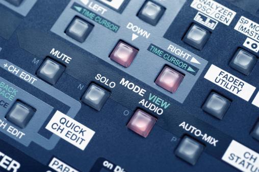 Rock Music「Close-up of sound mixer」:スマホ壁紙(0)