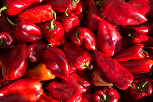 Bell Pepper「Close-up of red peppers」:スマホ壁紙(9)