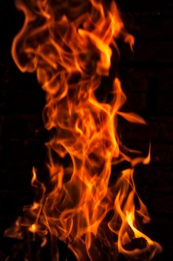 Hell「Closeup of fire」:スマホ壁紙(12)
