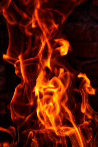 Hell「Closeup of fire」:スマホ壁紙(6)