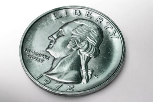 米国硬貨「Close -up of ドルコイン」:スマホ壁紙(13)