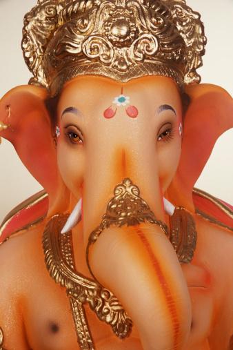 Hinduism「Close-up of statue of Ganesh」:スマホ壁紙(11)
