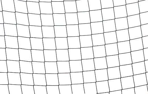 Traditional Sport「Close-up of a football soccer net on  a white background.」:スマホ壁紙(5)