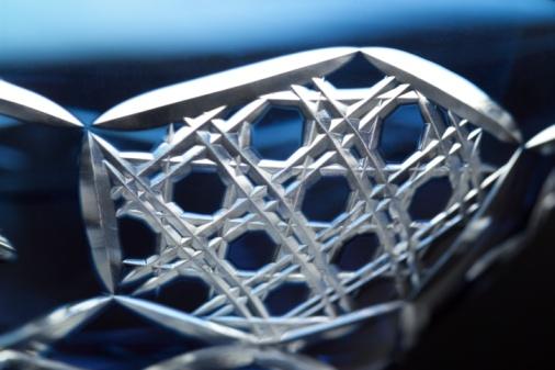 和柄「Close-up of crystal glass」:スマホ壁紙(18)
