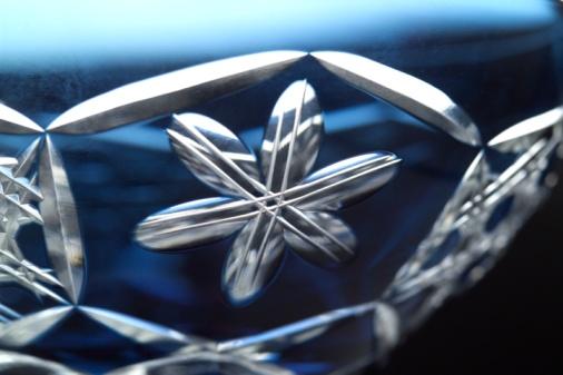 和柄「Close-up of crystal glass」:スマホ壁紙(14)