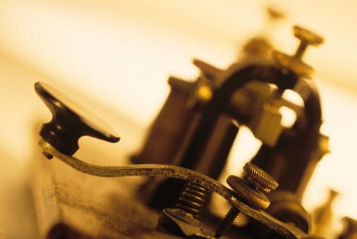 Sepia Toned「Close-up of telegraph machine」:スマホ壁紙(11)