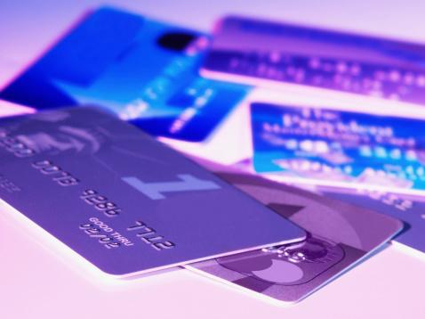 Credit Card「Close-up of credit cards」:スマホ壁紙(15)