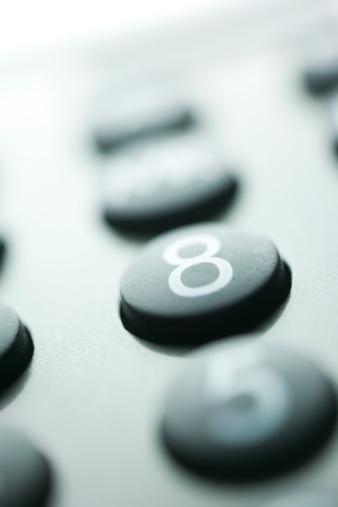 数字の8「Close-up of a calculator」:スマホ壁紙(11)
