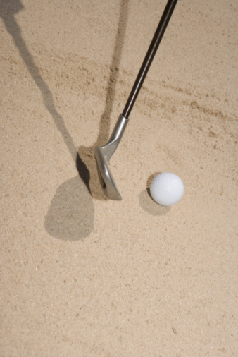 Sand Trap「Close-up of a golf club and a golf ball」:スマホ壁紙(6)