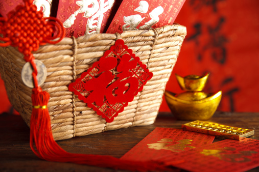Praying「Close-up of gold ingots and abacus」:スマホ壁紙(17)