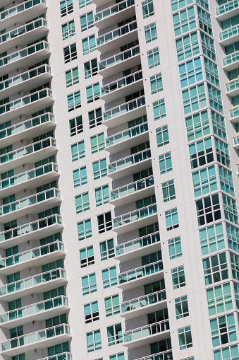 Miami「Close-up of tall residential buildings」:スマホ壁紙(18)