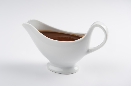 Gravy Boat「Close-up of a china gravy boat with a white background」:スマホ壁紙(2)