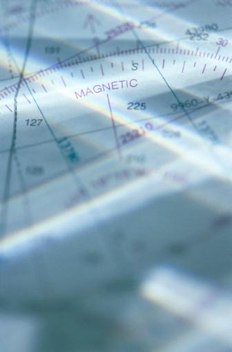 Latitude「Close-up of aeronautical map」:スマホ壁紙(10)