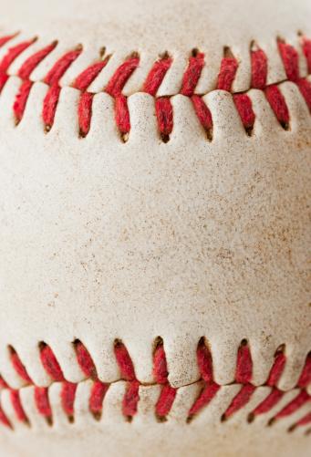 Seam「Close-up of baseball ball」:スマホ壁紙(14)