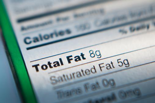 Fat - Nutrient「Close-up of nutrition information」:スマホ壁紙(5)