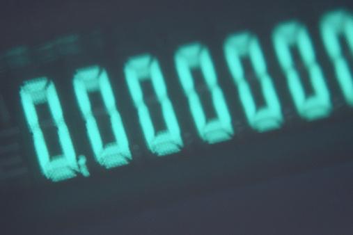 Emitting「Close-up of LED screen on calculator」:スマホ壁紙(10)
