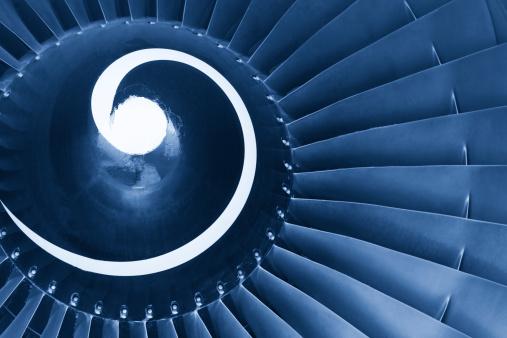 Jet Engine「Close-up of jet engine turbine」:スマホ壁紙(12)