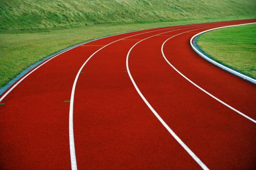 Running Track「Close-up of running track」:スマホ壁紙(15)