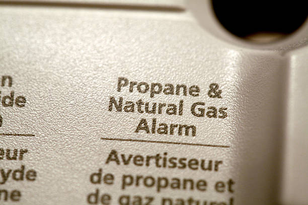 Close-up of propane & natural gas alarm:スマホ壁紙(壁紙.com)