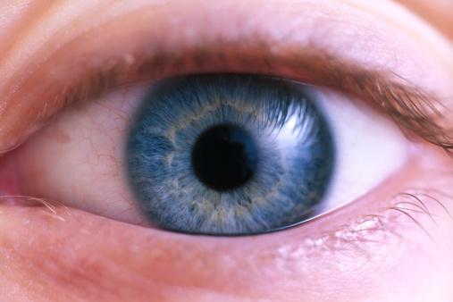 Iris - Eye「Closeup of blue eye」:スマホ壁紙(16)
