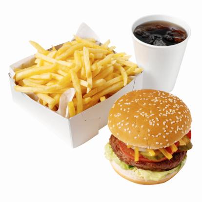 コーラ「Close-up of burger and french-fries with cold drink」:スマホ壁紙(17)