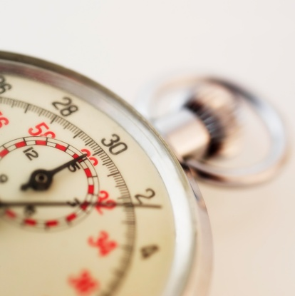 Watch - Timepiece「Closeup of a stopwatch」:スマホ壁紙(5)