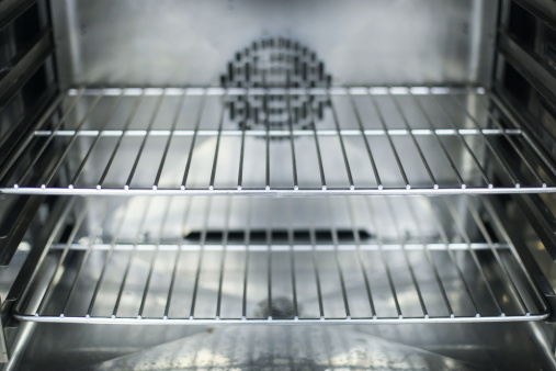 Rack「A close-up of the interior of a clean oven」:スマホ壁紙(4)