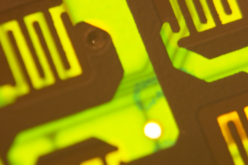 Mother Board「Close-up of pattern on computer circuit board」:スマホ壁紙(5)
