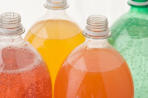 Drinking「Closeup of open soda bottles」:スマホ壁紙(5)