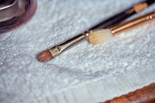 Real Life「A close-up of make-up brushes」:スマホ壁紙(10)