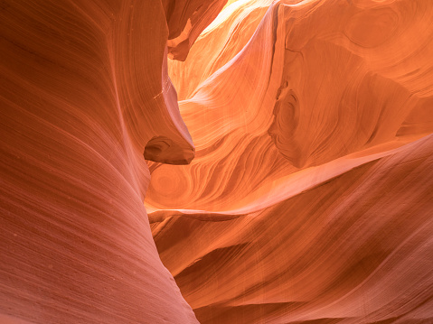 Geology「Close-up of Antelope Canyon, Arizona, America, USA」:スマホ壁紙(11)