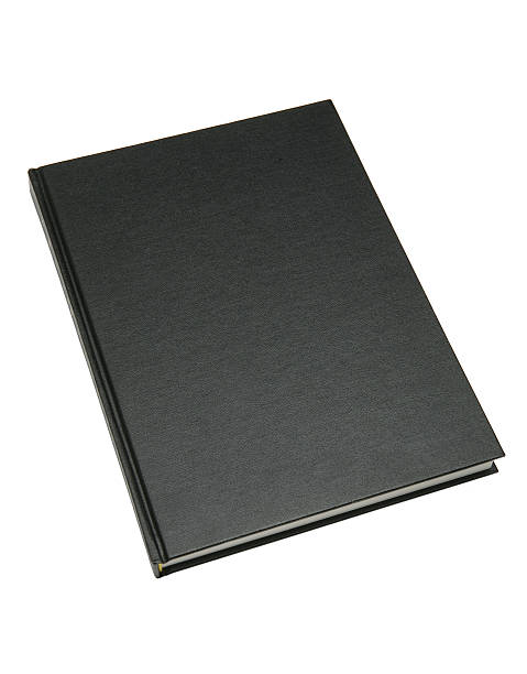 Closeup of a thin hardcover blank black book :スマホ壁紙(壁紙.com)