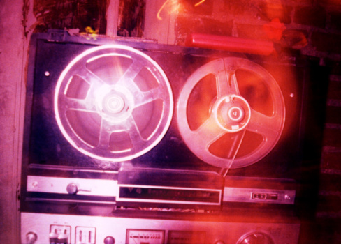 Multiple Exposure「Close-up of a tape recorder, St. Petersburg, Russia」:スマホ壁紙(14)