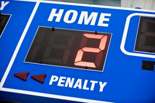 Hockey「Close-up of Home scoreboard」:スマホ壁紙(6)