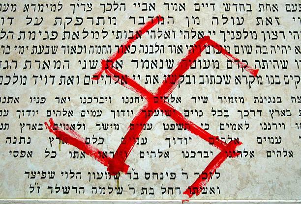Synagogue Walls Desecrated With Anti-Semitic Graffiti:ニュース(壁紙.com)