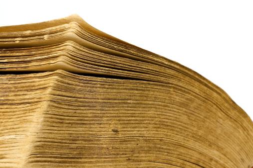 Manuscript「Close-up of open book」:スマホ壁紙(13)